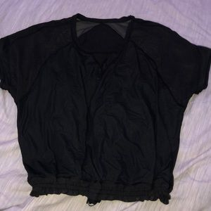 Lululemon mesh tops size 8 or 10